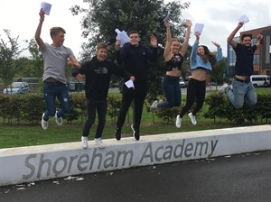 FIVE YEARS OF SIGNIFICANT IMPROVEMENT AT SHOREHAM ACADEMY